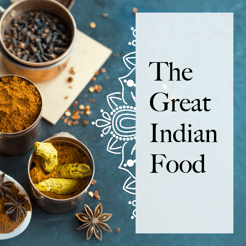 The great indian food